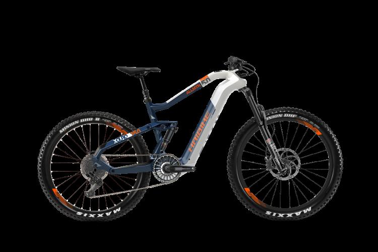 Электровелосипед HAIBIKE XDURO ALLMTN 5.0 Carbon FLYON 27.5/29 2020