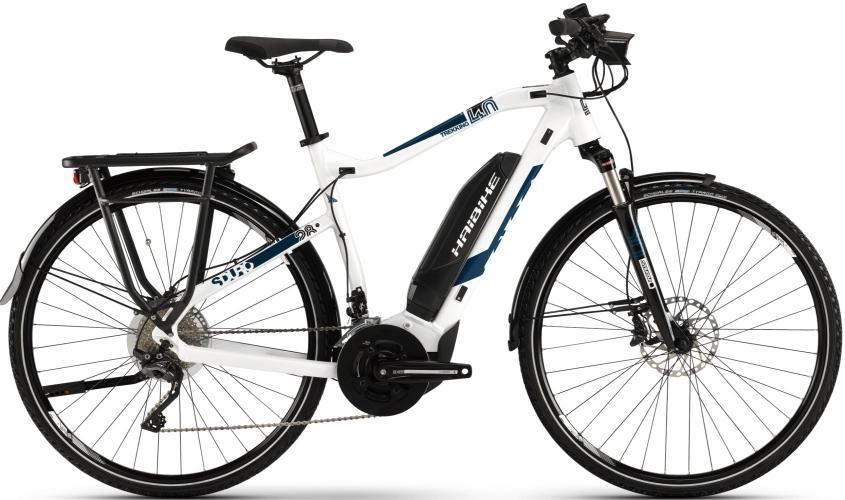Электровелосипед HAIBIKE SDURO Trekking 4.0 28 2019, белый