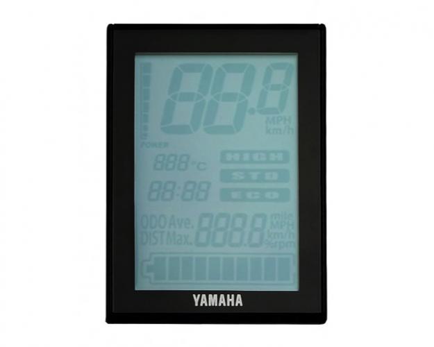 Дисплей Yamaha PW, LCD