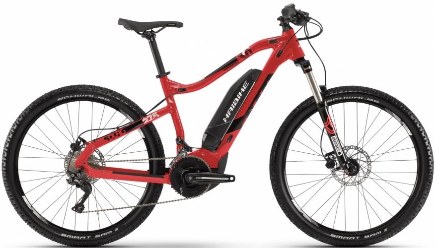 Электровелосипед HAIBIKE SDURO HardSeven 3.0 27.5 2019, красный