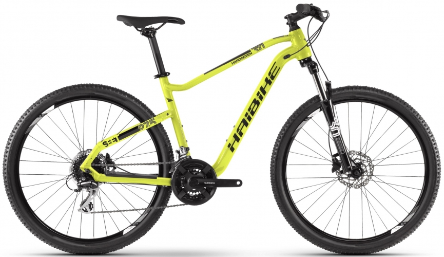Велосипед HAIBIKE SEET HardSeven 3.0 27.5 2020, Лайм