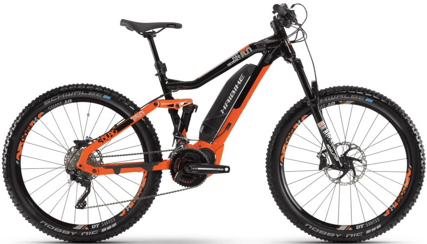 Электровелосипед HAIBIKE SDURO FullSeven LT 8.0 27.5 2019 *тестовый