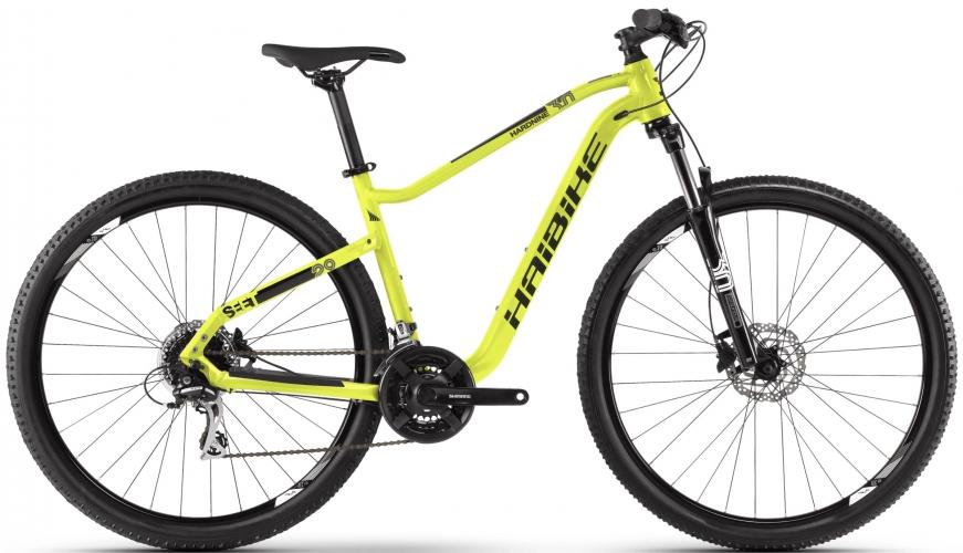 Велосипед HAIBIKE SEET HardNine 3.0 29 2020, Лайм