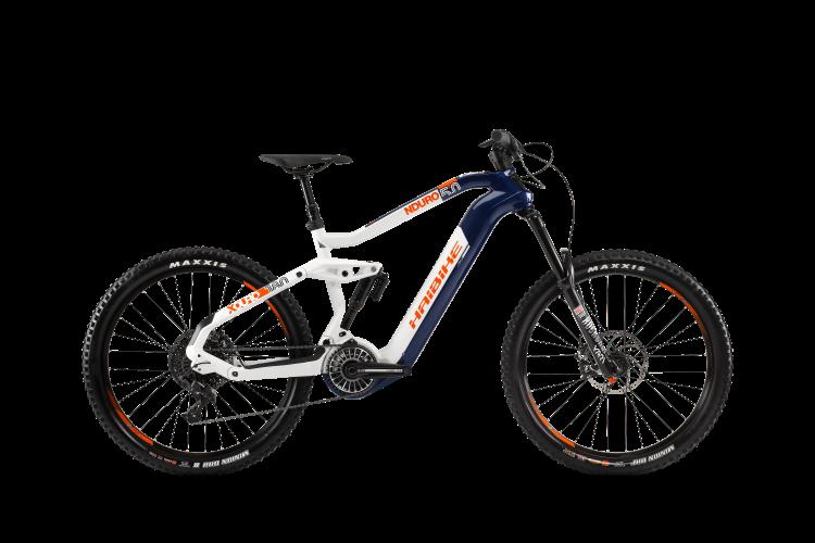 Электровелосипед HAIBIKE XDURO NDURO 5.0 Carbon FLYON 27.5 2020