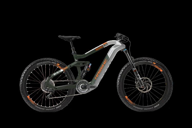 Электровелосипед HAIBIKE XDURO NDURO 8.0 Carbon FLYON 27.5 2020